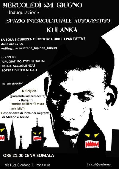 inaugurazione Kulanka